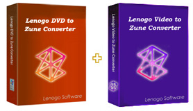 Lenogo DVD to Zune Converter + Video to Zune Powerpack screenshot